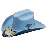 Adult Coloured Cheyenne - Light Blue-13501