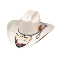 Triple Diamond White Hat-140