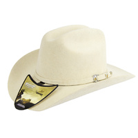 Kids Wool Felt Cattleman Hat - Bone-185