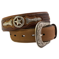 Western Star Leather Belts-301
