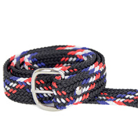 Braided Nylon OSFA Belt - Multi Colour - 31507