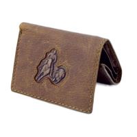 Distressed Leather with Campdrafter Brand - 5010-C