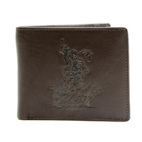 Dark Brown Leather Rodeo Brand - Bullrider - 5101D