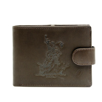 Dark Brown Leather Rodeo Brand - Bullrider - 5101E