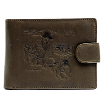 Dark Brown Leather Rodeo Brand - Old School - 5103E
