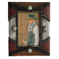 Standing Resin 'Concho' Frame - 7012