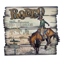 Rodeo Sign - Wall Mounted - 7074