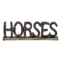 Horses Sign - Free Standing - 7075