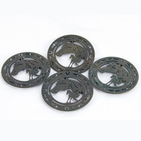 Metal Coasters - Set of 4 - 7202