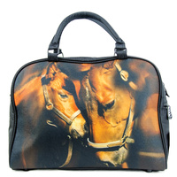 Overnight Felt Bag - Mare and Foal - FB04