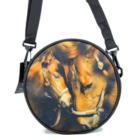 Circlular Multi-Purpose Knapsack - Mare and Foal - FK04