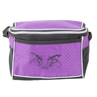 Insulated Lunch Bag - Purple Horse Heads - GG839