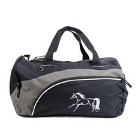 Black and Grey Overnight Bag - GG854
