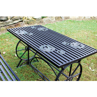 Outdoor Dining Table - Steel - HY460