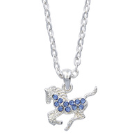 Necklace - Precious Pony Blue - Gift Boxed - JN896BL
