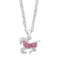 Necklace - Precious Pony Pink -  Gift Boxed - JN896PK