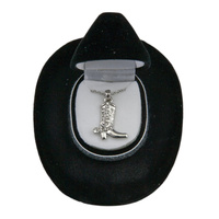 Necklace - Cowboy Boot - JN910