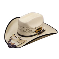 Hat - Western - Bronco '8 Second' - Bound Edge - [Code 124]