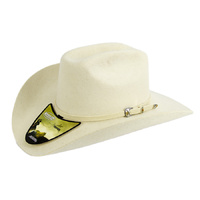 Hat - Western - Bone Wool Felt Cattleman -[180]