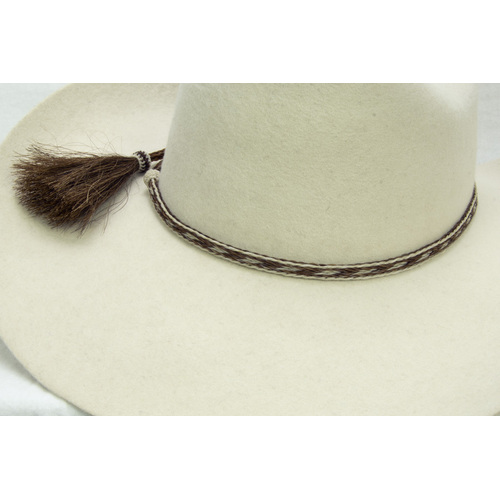 "Hat Band - Natural Horse Hair - 3/8""- Assorted Colours - [249]"