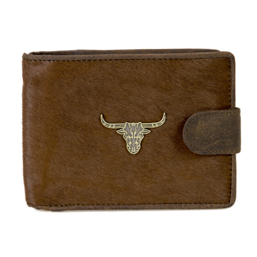 Longhorn Hair On Leather - 5001E