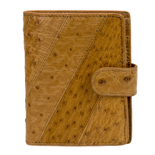 Genuine Ostrich Leather TAN Wallet/Purse - 5041