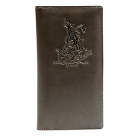 Bullrider - Dark Brown Leather Rodeo Style - 5101A