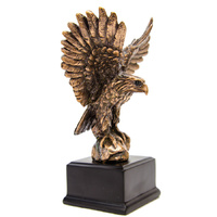 Eagle - Small  Bronze Plated Statue - 7521