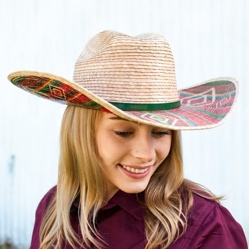 """Southwestern Energy"" 20X - Palm Leaf Hat - BH2922"