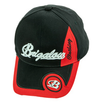 Brigalow Cap - Black/Red Circle - [CAP-BC03]