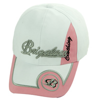 Brigalow Cap - White/Pink Circle - [CAP-BC05]