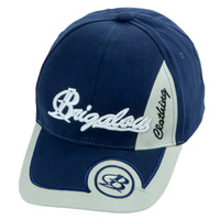 Brigalow Cap - Navy/White Circle - [CAP-BC08]