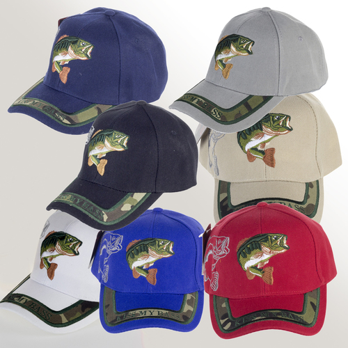 Cap - Kiss my Bass - 7 Colours - LT04