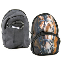 Small Belt Clip Novelty Pouch - Horse Head - FB03