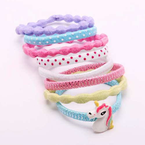Pony Tail Bands - Unicorn Design - GG406
