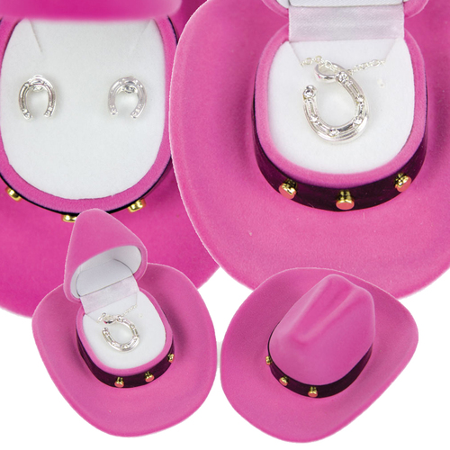 'Horseshoe' Jewelry Set - Earrings And Necklace - J104