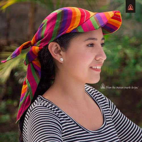 Mayan Cotton Bandana - Assorted Colours - M4001