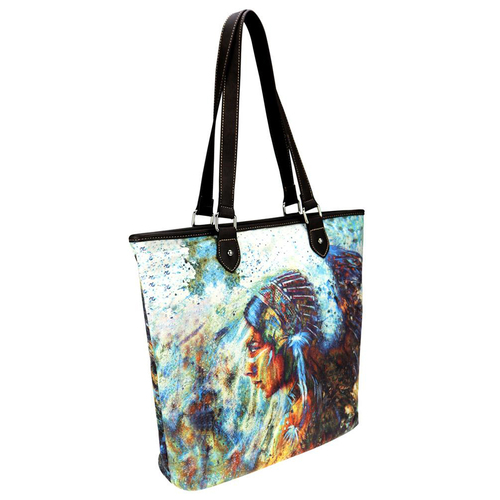 Ladies Tote - Tall - Native American Collection - [MW789-9318]